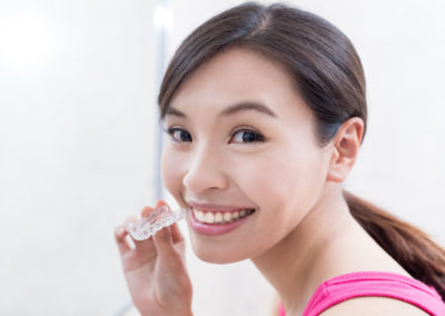 Invisible Braces or Clear Aligners